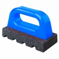 "6"" x 3"" Rub Brick (Fluted) with Handle - 20 grit"