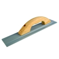 "15"" x 3"" Square End Aluminum Float Wood Handle"