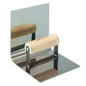 """6"""" x 6""""- 1/2"""" Radius Stainless Steel Base Tool"""