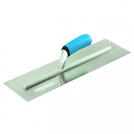 "12"" x 4"" Square End Finishing Trowel Long Shank"