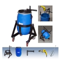 Complete Cart, Barrel, Cart, Head Attach. & Drill