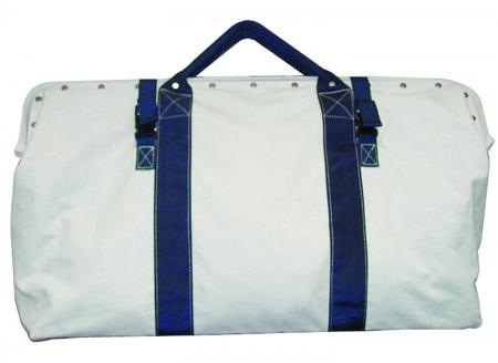 "Heavy Duty Canvas Bag w/Nylon Straps (20""x5.5""x14""D)"