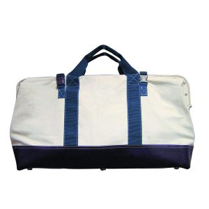 "Heavy Duty Canvas Bag w/Rubber Bottom (20""x5.5""x14""D)"