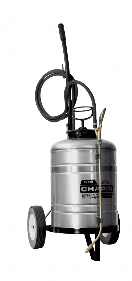 6 Gallon Stainless Steel Sprayer w/Chart